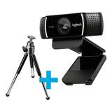 Camara Web Webcam Logitech C922 Stream 1080p + Tripode Full
