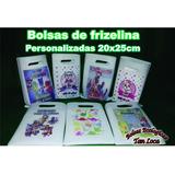 Bolsas De Frizelina Personalizadas Medida 20x25