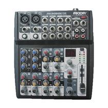 Mixer Moon Mc606 Beta 6 Canales - 2 Mono 4 Stereo Y Efectos