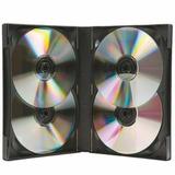 Cajas Multiple Dvd Importada Para 4 Unidades