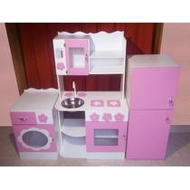 Muebles Cocina Infantil Juego Cocinita Casita Rincon Jardin en venta ...