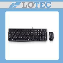 Kit Teclado Y Mouse Usb Logitech Mk120 Combo Multimedia Slim