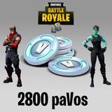 Fortnite 2800 Pavos V-bucks - Pc - Ps4