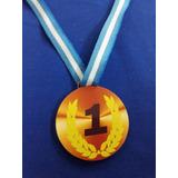 Medallas Trofeo Souvenir Cumpleaños Calcomania