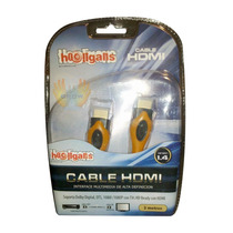 Cable Hdmi Full Hd 1080p Doble Filtro Led Lcd Ps3 Tv E/oro