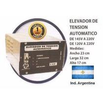 Elevador Tensión Manual C/alarma Alta (110 A 220 V) 5 Kw