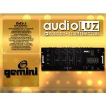 Mixer Gemini Rmx 3 Mezcladora