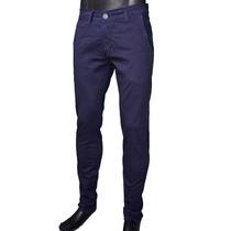 Pantalon De Gabardina Chupin Elastizado - Varios Colores