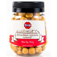 Amendoim Crocante Natural 150g - Flora