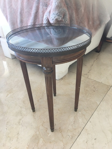 Mesa antigua para living impecable estado 5000 mkvig for Mesas antiguas precios