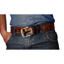 Cinturones Cintos, Cuero 100% Elijes Hebilla, Color Y Medida