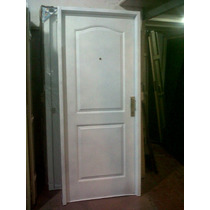 Puerta Doble Chapa Inyectada Doble Faz Con Manijón 0,80x2,00