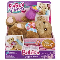 Mascota Peluche Furreal Friends Feed Me Babies Original Tv