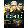 Dvd Csi Crime Scene Investigation Season 13 / Temporada 13