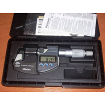Mitutoyo Micrometro Especial Yunke 1,8 Mm , Muy Bno 0-25 Mm