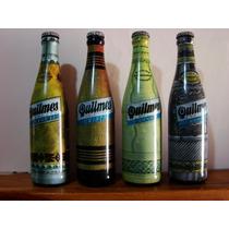 Set Botellas Quilmes Edicion Artesanias Argentinas Completas