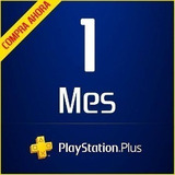 Playstation Plus Ps4 Ps3 Ps Vita Un Mes_no Código