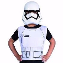 Kit Star Wars Mascara Pechera Original New Toys Trooper