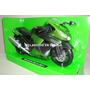 Kawasaki Zx-14 2011 - Color Verde - Moto New Ray 1/12