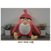 Angry Red Bird - Como En La Peli - Peluche 40 Cm!