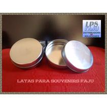 Latas Pastilleros 7x2,5cm Souvenirs Lisos Para Personalizar