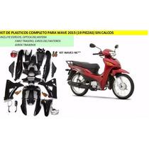 Kit Cachas Honda 110 Wave New (carenado Completo Plasticos)