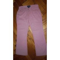 Pantalon De Corderoy Rosa Importado