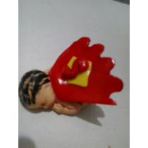 12 Unidades $150 Bebe En Porcelana Fria Souvenir. Superman.