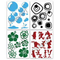 Ploteo Vinilo Decorativo 6 Al Precio De 4 Calco Sticker20x25