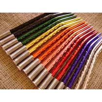 Bombillas Color Anodizadas Niqueladas $4,69 C/u - Pack 30