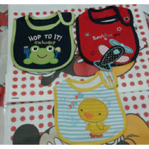 Baberos Carters Tricapa
