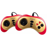 Consola Level Up Retroplay Roja/dorada