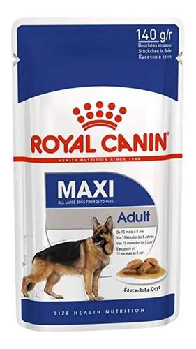 Alimento Royal Canin Size Health Nutrition Maxi Adult Perro Adulto Raza Grande 140g