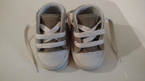 Zapatillas bebe gamuza color beige marron claro - Color beige claro ...