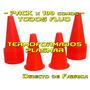 Pack X 100 Conos Entrenamiento Deportivo - Directo Fabrica