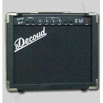Amplificador De Bajo Decoud Hb 40 Ideal Principiantes!