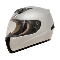 Casco Integral Shiro Sh821 Gris Plata Velocidad Motorbikes