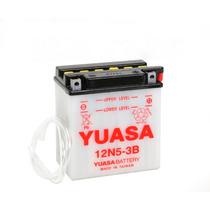 Bateria Para Motos Yuasa 12n5-3b . Panella Motos