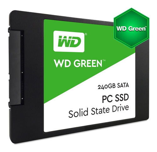 Disco Solido Wd 240 Gb Ssd Green Western Digital  Mexx1