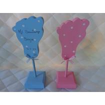 Souvenirs Piecitos Nacimiento Baby Shower Bautismo