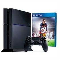 Consola Ps4 Sony Playstation 4 500gb Nueva 12 Cuotas S/int.