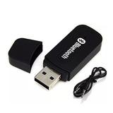 Receptor Bluetooth Auto Stereo Usb Miniplug Equipo De Música