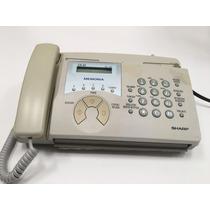 Teléfono Fax Sharp Ux-45 Color Beige