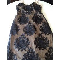 Vestido Forever21 Importado Usa Entallado Con Corset