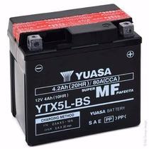 Bateria Yuasa Ytx5l Bs Gel Honda Cg Titan 150 Motoscba