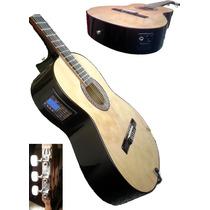 Guitarra Electrocriolla Ecualizador De 4bandas+vol+afinador