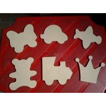 Figuras Para Dia Del Niño De 7x7cm Fibrofacil-mdf- 50x $100