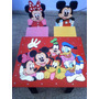Mesa Sillas Infantiles Mickey Minnie Donald Goofy Pluto