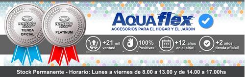 Flor De Ducha Cromado 4 Funciones Con Corte 7008c Aquaflex