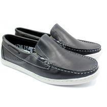 Zapato Hombre Nautico Scarpino 270-02 Regalo Para Papa